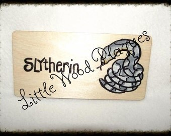 Handmade wooden personalised *Snake* tank sign/plaque