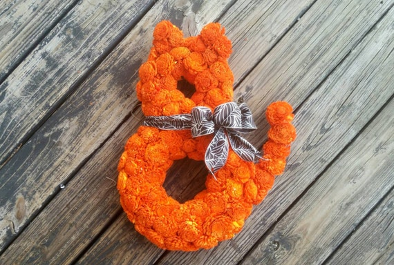 Halloween Wreath, Cat Wreath, Sale
