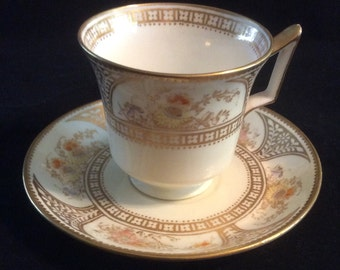 Antique Wedgwood Demitasse Cup and Saucer