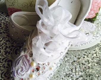 Bride Sneakers * Wedding Sneakers*Bridal Sneakers*Bride Flats*