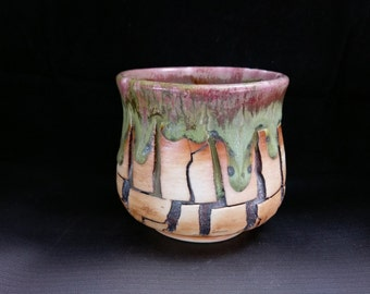 ChingWenArts Studio Pottery  Japanese Tea Bowl, chawan, sake cup,E144