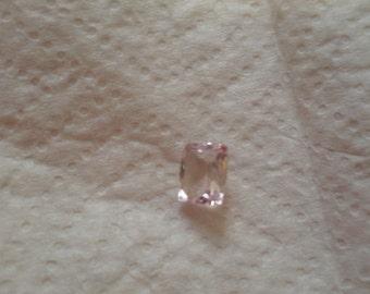 KUNZITE - Pretty Delicate Pink  4.86 Carat Kunzite GemStone in a Beautiful Faceted Cushion Cut...
