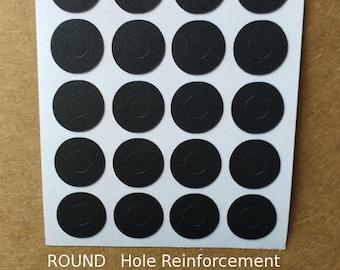 Hole Reinforcement Stickers, 40 pcs, PVC-Free