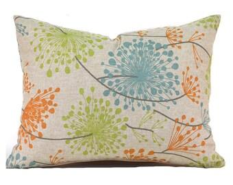 Lumbar Pillow Cover ANY SIZE Decorative Pillow Cover Floral Pillow Premier Prints Irish Daisy Ridgeland
