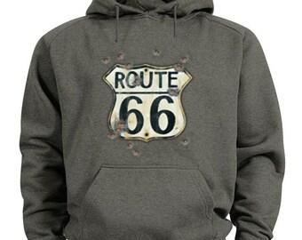 Rt 66 hoodie route 66 sweatshirt