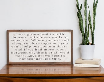 Love Grows Best 2x1- READY TO SHIP