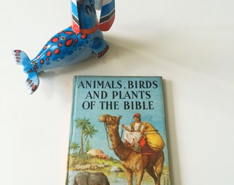 REDCUED Vintage Ladybird Book 'Animals, Birds and Plants of the Bible' Series 649