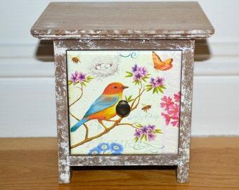 Gorgeous Bird drawer Storage box