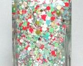 Sweet Christmas Candy - *NEW* - handmade holiday glitter nail polish