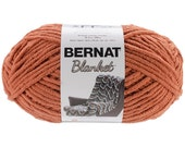 Bernat Blanket Yarn Pumpkin Spice Large Skein 300 Grams New Home Decor Color
