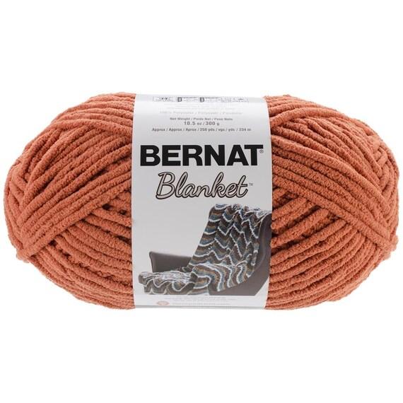 Bernat Blanket Yarn Pumpkin Spice Large Skein 300 Grams New