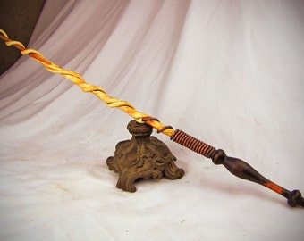Twisted Vine Magic Wand for Magick, Wicca, Wiccan Wand, Witch's Wand, Occult, Pagan or cosplay
