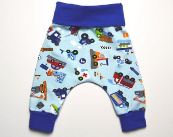 Baby pants newborn trousers for boys cars
