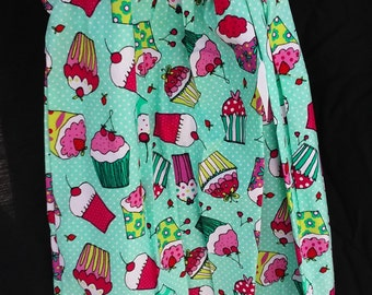Girl's Cupcake Pillowcase Dress