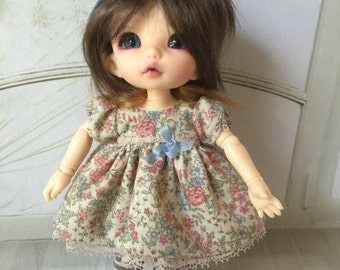 Outfit for Pukifee, Lati yellow or similar size 16cm doll