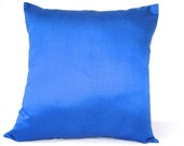 Blue Pillow, Solid Pillow, Outdoor Pillow, Blue Throw PIllow, Blue Pillow Cover, Blue Cushion, 18x18 pillows, Decorative PIllows