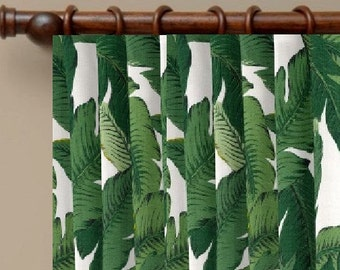 Delightful Tropical Curtains SALE Drapes Tommy Bahama Indoor Outdoor Fabric Curtains