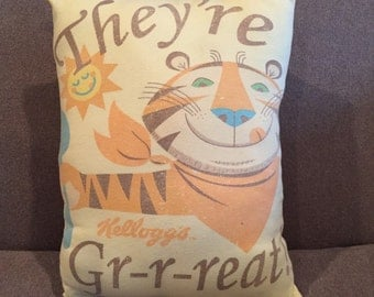 Tony the Tiger Tshirt Pillow
