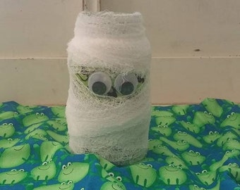 Halloween Mummy Jar