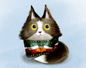 Cat in Ugly Christmas Sweater