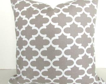 PILLOWS Tan Pillow Covers Tan Decorative Pillows 16 18 20x20 Taupe Ecru Moroccan Pillow Covers Khaki Tan Pillows Home and living Home Decor