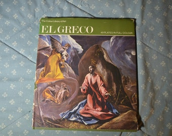 Book-El Greco by Philip Troutman The Color Library of Art