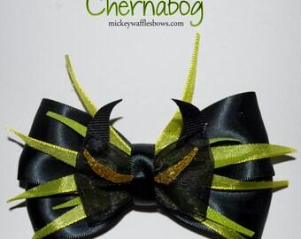 Chernabog Hair Bow