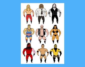 Wrestling card 2