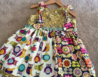 Twirl knot dress
