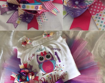 Owl Birthday Set,
