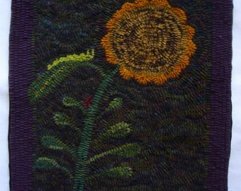 Sunflower  Rug Hooking Kit