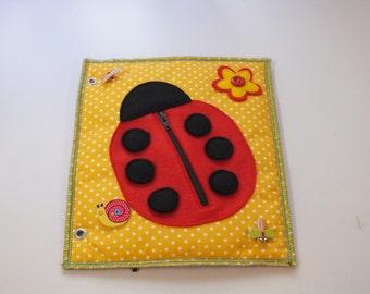 Quet Book-Activity Book-Busy Book-Felt book-Lady Bird Page