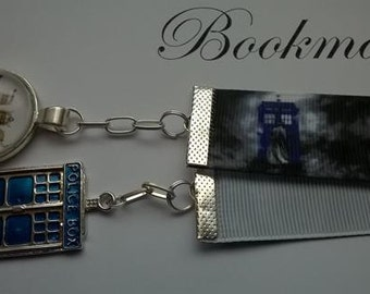 Dr Who Ribbon Bookmark