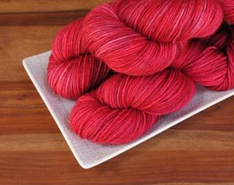 Poppy Dreams on Sylvan, Superwash BFL DK Weight Hand-dyed Yarn