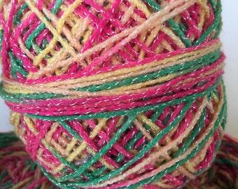 Rainbow Color Yarn