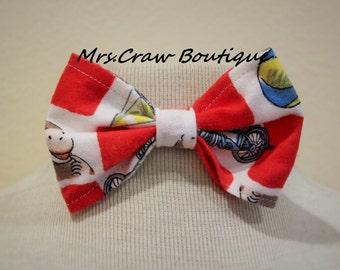 Curious George Bow Tie Or Hair Bow