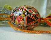 Traditional pysanka - easter egg