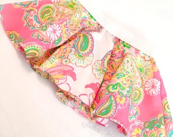"""Circle Skirt in Lilly Pulitzer Fabric """"Engineered Double Trouble"""" Resort 2015"""