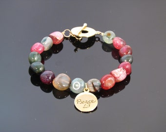 Agate Bracelet - Peace/Balance