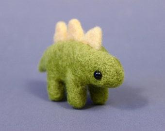 Needle Felted Stegosaurus