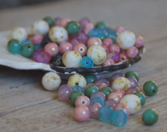 Czech Glass Beads Mix - Czech Beads - Glass Beads - Bead Mix - Bohemian - Jewelrymaking - Jewelry Supplies - Beadwork