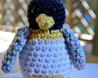 Colorful Amigurumi Crochet Penguin
