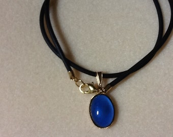 Mood Necklace!! 100% Rubber Necklace with Lobster Claw Clasp!!