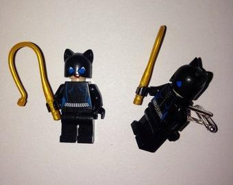 Superhero Lego Cufflinks - Catwoman