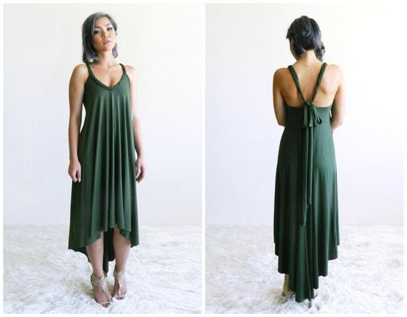Fern High-Low Maxi Dress / More Colors!