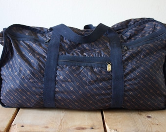 Vintage 1990s Gucci Light And Large Travel Carry On Bag