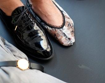 "BenitoDream lace socks - model ""Grey"""