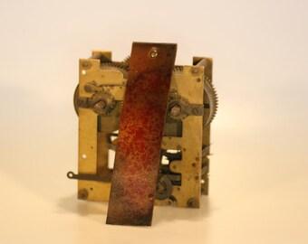 steampunk leather bookmark, vintage