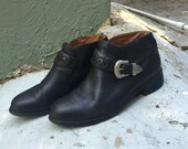 Ariat boots, black boots, ankle boots, weatern boots, motorcycle boots size 8
