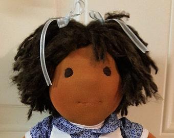 Morgan - 18 in. Waldorf inspired doll